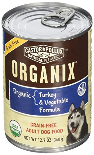 Organix, Grain Free Organic Turkey & Vegetable Canned Dog Food, 12.7 oz