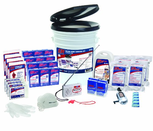 ER Emergency Ready SKH4SR 4 Person Standard Survival Kit by ER Emergency Ready