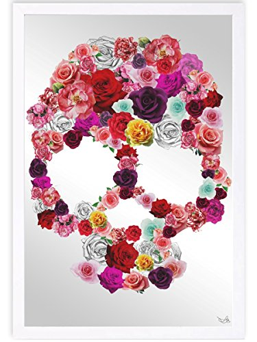 The Oliver Gal Artist Co. Bed of Roses | Framed Mirror Print for Wall Art Decor. the Floral Collection by Oliver Gal Décor Home, 16