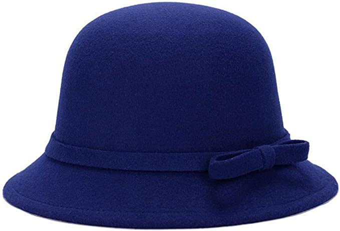 Gorros Diseño De Moda Bowknot Sombrero Melón Sombrero De De ...