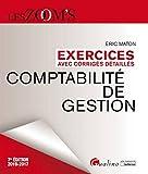 Exercices avec corrigés détaillés - Comptabilité de gestion 2016-2017