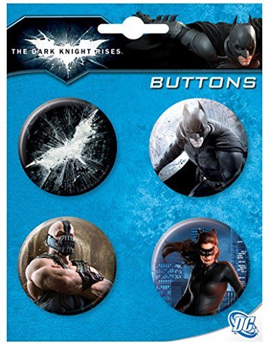 Ata-Boy DC Comics Batman The Dark Knight Rises Set of 4 1.25