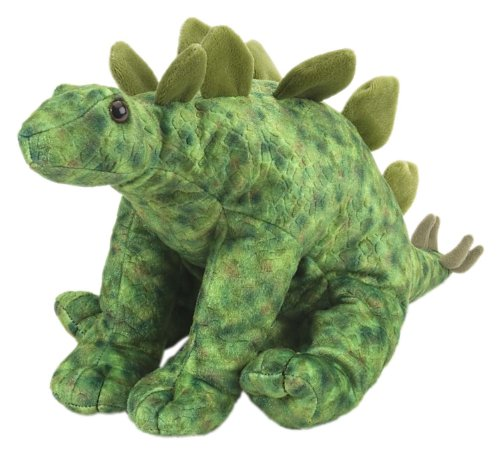 Wild Republic Stegosaurus Plush, Dinosaur Stuffed Animal, Plush Toy, Kids Gifts, Cuddlekins, 12 Inches