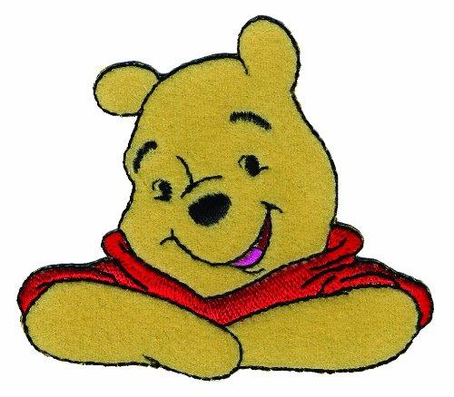 Disney Winnie The Pooh Iron-On Applique-Winnie The Pooh