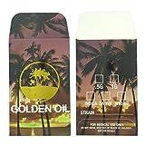 500 Golden Oil Premium Foil Shatter Labels Wax Strain Coin Envelopes #149