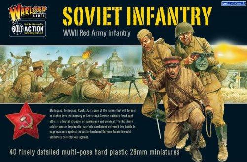 Soviet Infantry Miniatures