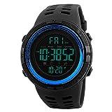 Men's Digital Sport Watch,Led Electronic Military Wrist Watch For Men,Alarm Stopwatch Chrono Date Calendar