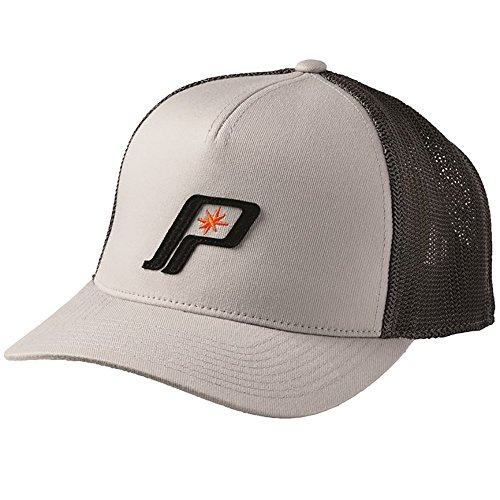 OEM Polaris Gray & Black Retro Baseball Hat Cap One Size Fits Most (Polaris Baseball Hat)