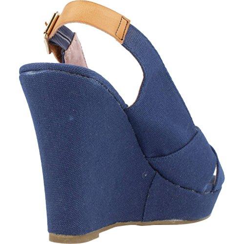XTI Sandalias y Chanclas Para Mujer, Color Azul, Marca, Modelo Sandalias Y Chanclas Para Mujer 77926 Azul Azul