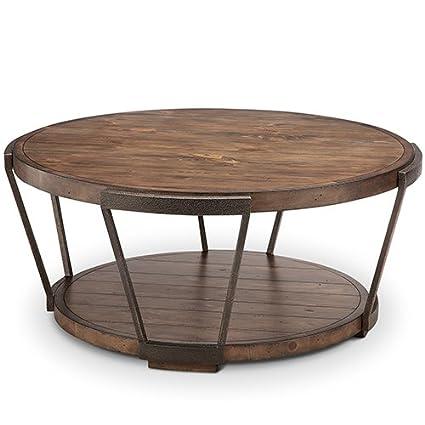 Ordinaire Magnussen Furniture Yukon Round Coffee Table