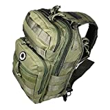 12″ 800cu. in. Tactical Sling Shoulder Hiking Backpack TL312 ODGN GREEN Review