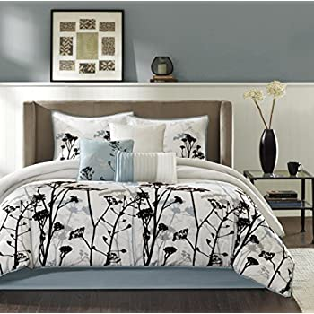 Amazon Com 11 Piece Cal King Provence Embroidered Bed In
