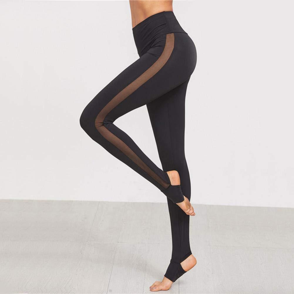 ❤️Embrague de Malla de los Pantalones de Las Mujeres, Yoga Skinny Workout Gym Leggings Deportes de Fitness Absolute: Amazon.es: Ropa y accesorios