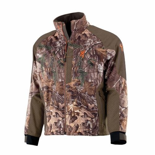 Browning Hell's Canyon Soft Shell Jacket, Realtree Xtra, X-Large