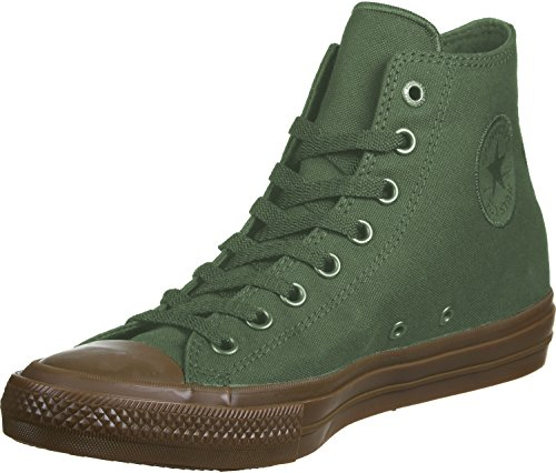 Converse All Star II Hi Calzado verde marrón