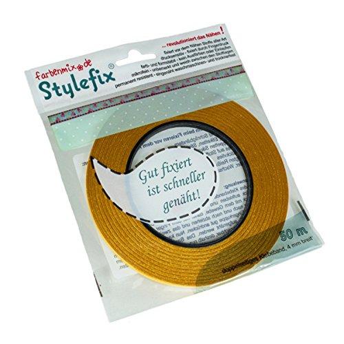 Farbenmix Stylefix doppelseitiges Textilklebeband, 50 m x 4 mm