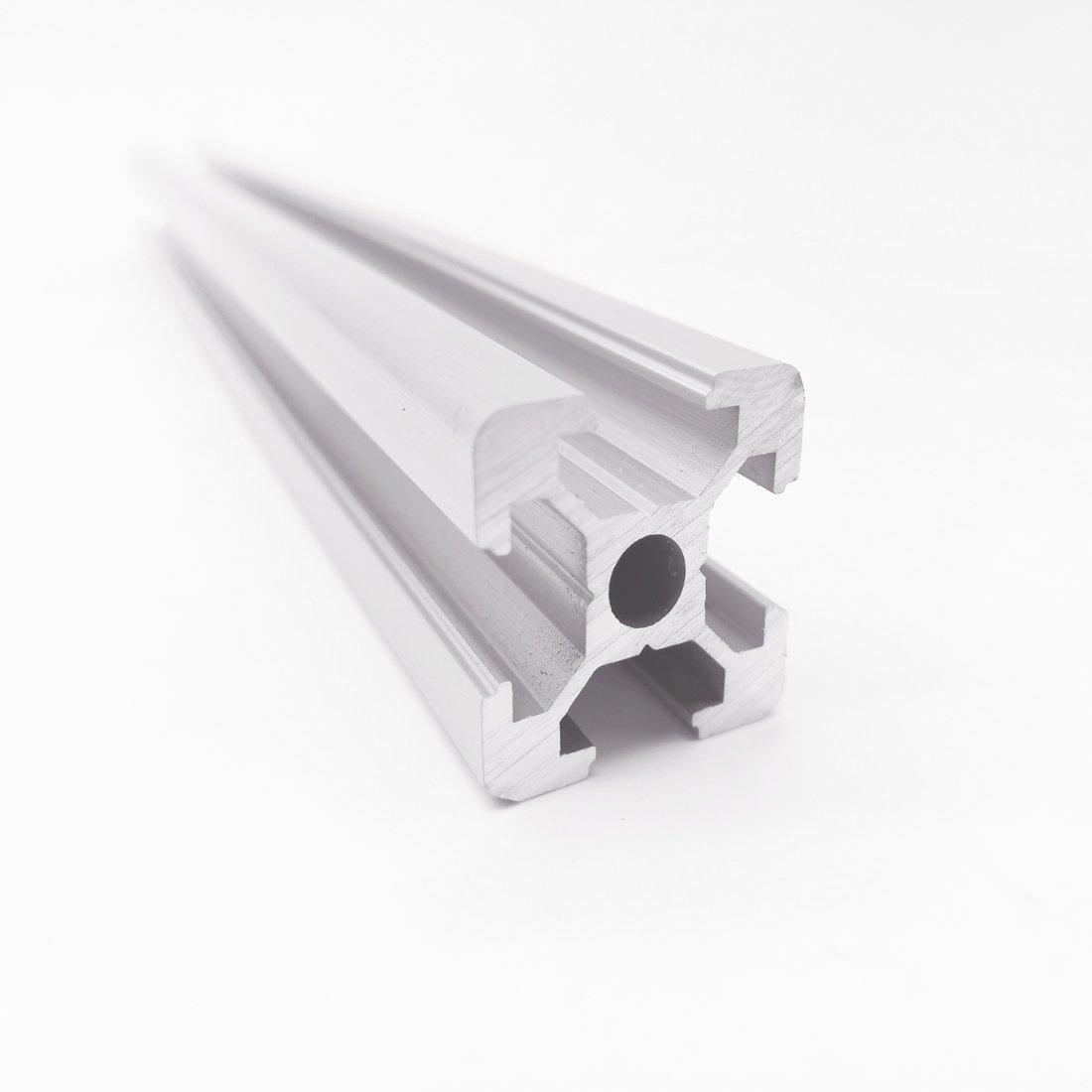 4pc 2020 400mm CNC 3D Printer Parts European Standard Anodized Linear Rail Aluminum Profile Extrusion for DIY 3D printer