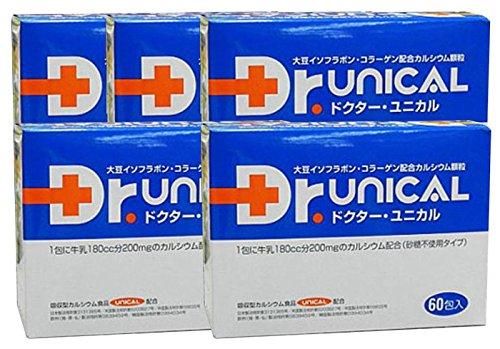 ドクターユニカル 顆粒 1箱(60包入り) 医療機関 相談薬局専売品 (5箱) B01N95EN2S   5箱