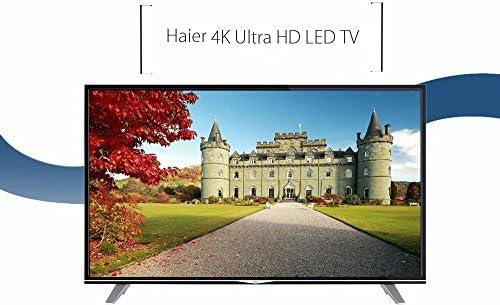 Haier - U55H7000 55 4K TV, HDMI Smart TV, Netflix UHD 3840 * 2160, 124.80 x 27.60 x 78.50 cm: Amazon.es: Electrónica