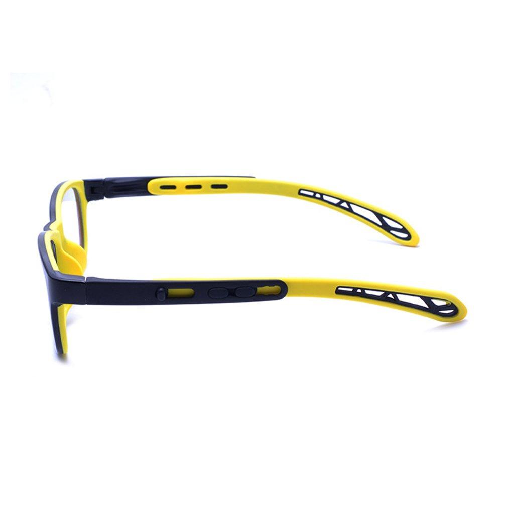 Silikon Juleya Kinder Gl/äser Rahmen Professionel Kinder Brillen Clear Lens Retro Reading Eyewear f/ür M/ädchen Jungen TR