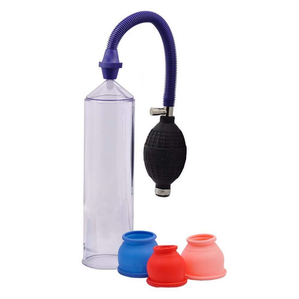 Pro Pump Assist Pê?is Érection Vacuum En-Large-Ment Device Pê?is Enlarger Pump Cöçk Ring Toy for Men-778957913178