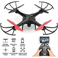 Drone With Camera - Quadcopter HD Camera WiFi FPV Quadcopter Drone, RC Quadcopter Drone Altitude Hold, U42W Green Jay Drone With Camera 2MP Live Video Remote Control Fpv Quadcopter Camera Kit