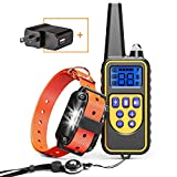 Best Bark Collar For Big Dogs - Cambond Dog Shock Collar with Remote, Waterproof Dog Review