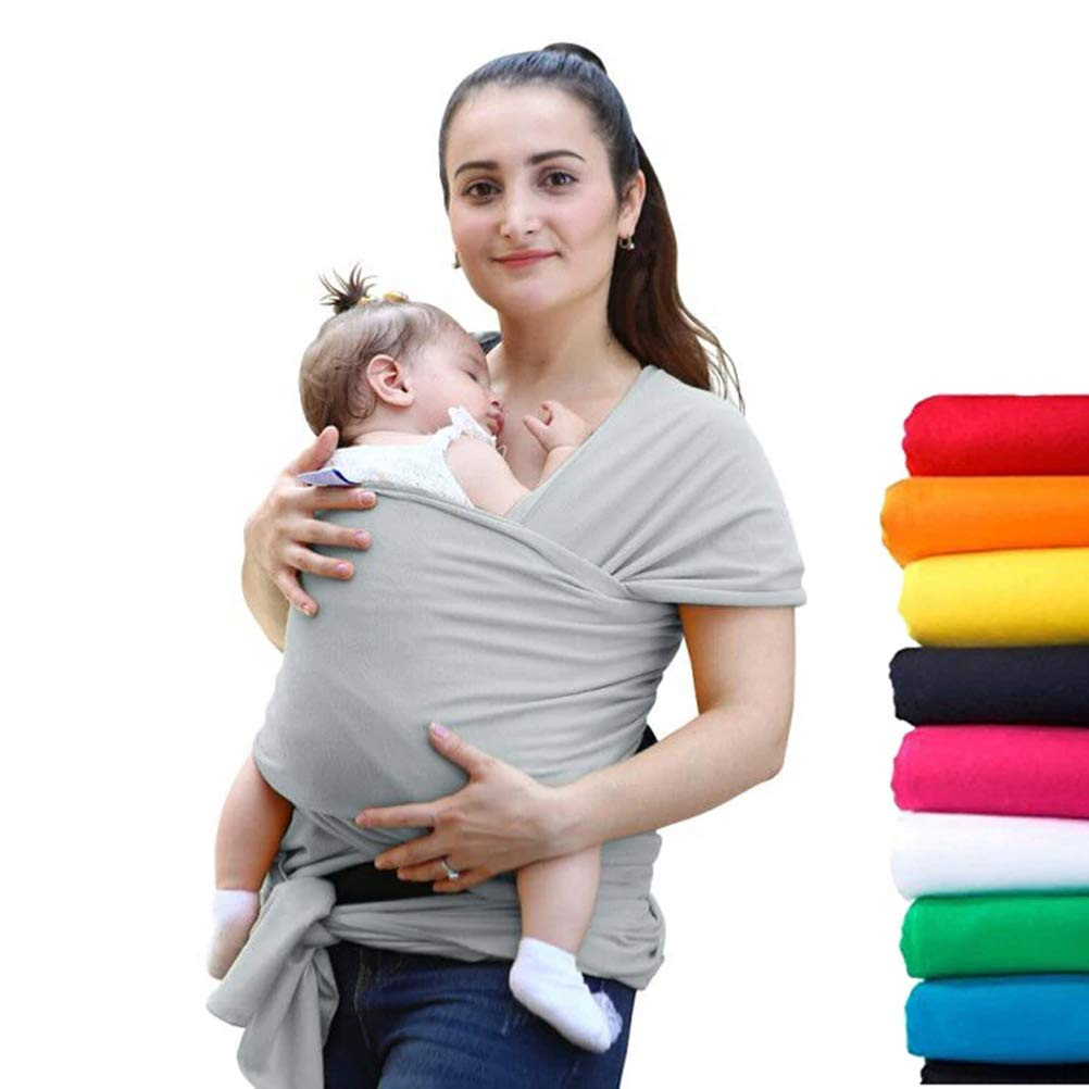 mrGood Comfortable Fashion Infant Sling Soft Natural Wrap Baby Carrier Backpack 0-3 Yrs Breathable Cotton Hipseat Nursing Cover