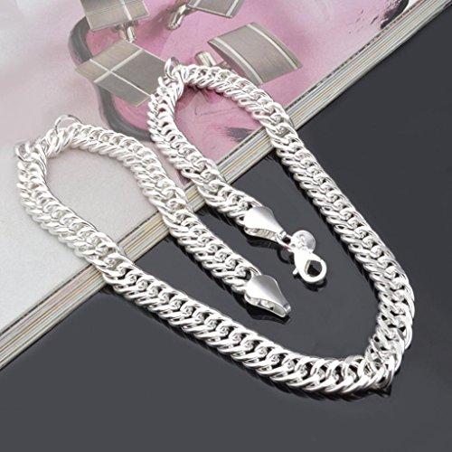 Tuscom Fashion Silver Chain Necklace