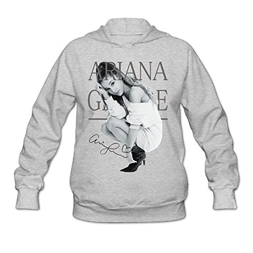 PTR Women's Hoodies - Ariana Pop Grande Poster Ash Size XL