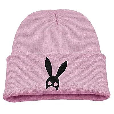Ariana Grande Headband Boy Girl Knit Hat Beanies Cap Pink