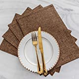 Home Brilliant Fall Placemats Set of 4 Heat