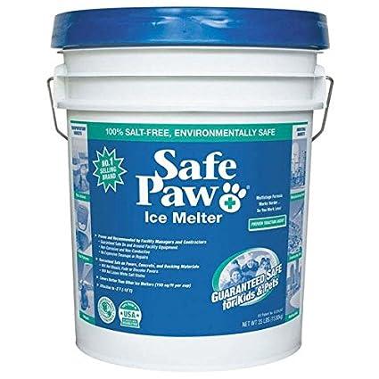 5a6a5279224 Amazon.com  Safe Paw Ice Melter 35 Lbs Pail  Pet Supplies