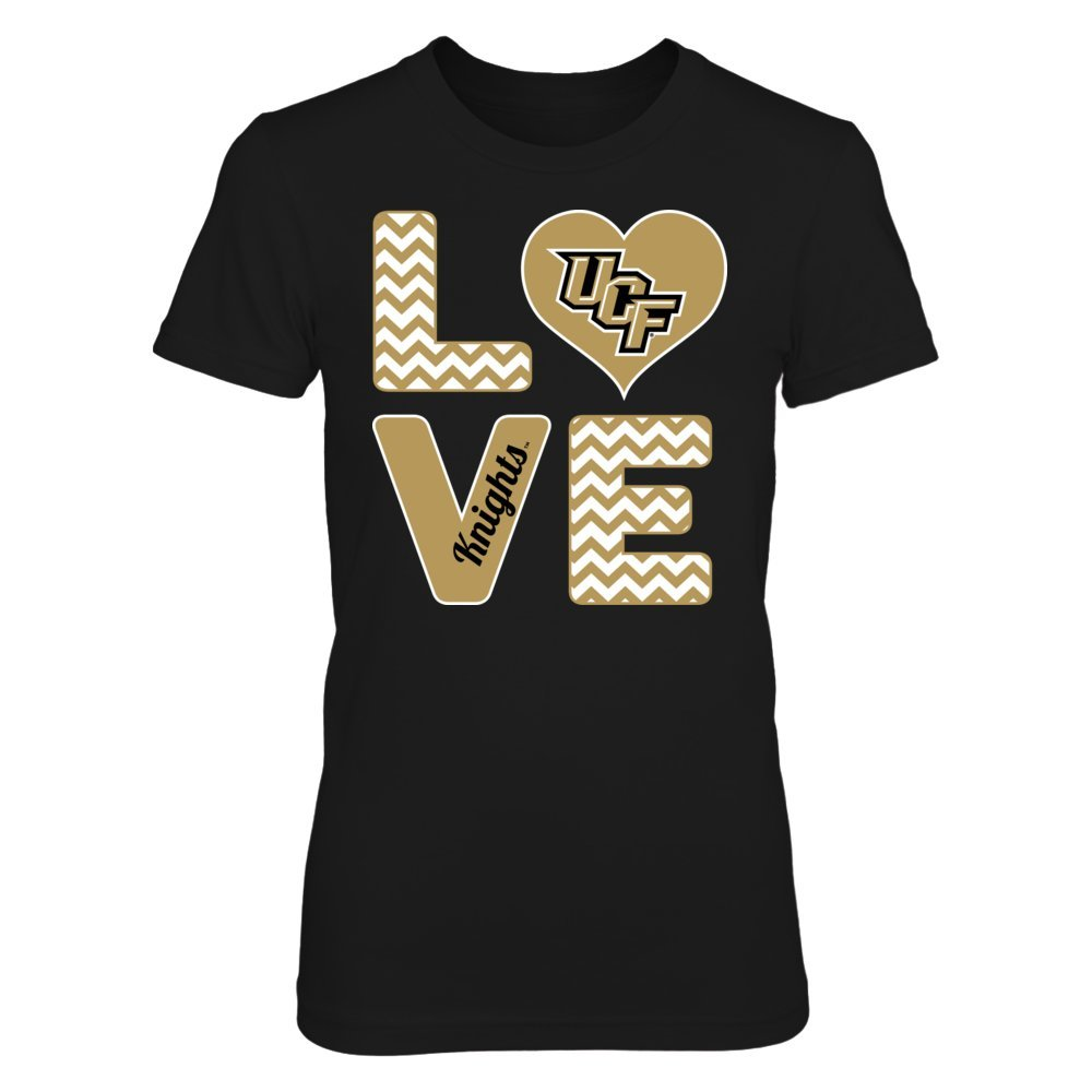 3826066d Amazon.com: FanPrint Stacked Love UCF Knights - Official Sports Apparel:  Clothing