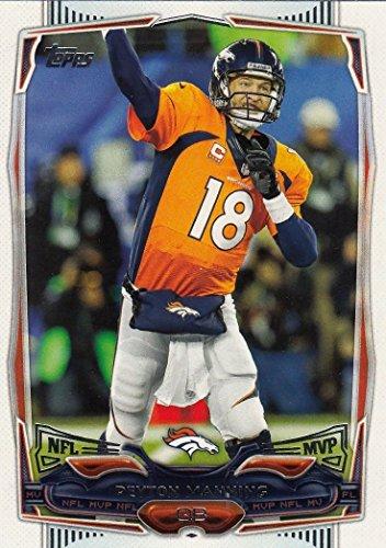 Peyton Manning 2014 Topps NFL Football Series Mint NFL MVP Card 174 Peyton Manning M (Mint)