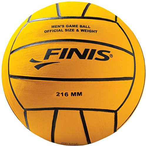 Finis Mens Water Polo Ball, Yellow