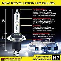 H7 6000K 55 W Heavy Duty Fast Bright AC HID Kit Conversion Phares Antibrouillard