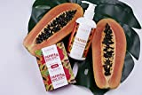 Papaya & Kojic Acid Whitening Soap (2 Bars/3.52 Oz) For Face & Body, Cell Renewal And Nourishment For Firm, Youthful Complexion, Even Skin Tone & Dark Spots Elimination
