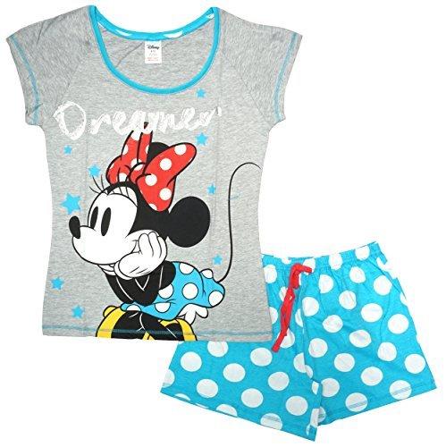 Femmes Disney Minnie Mouse Rêveur Pois de Polka Pyjamas Short Grandes Tailles de 8 to 22