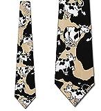 Cow Hide tie Mens Necktie