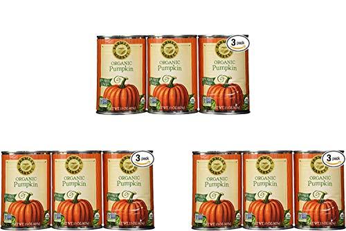 Farmers Market Pumpkin Puree 100% Organic 3 Count-15oz (3 Pack) by Farmers Market (Image #1)