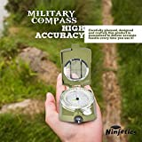 Professional-Multifunction-Metal-Military-Compass-by-Ninjetics-Highly-Accurate-Waterproof-with-Luminous-Display