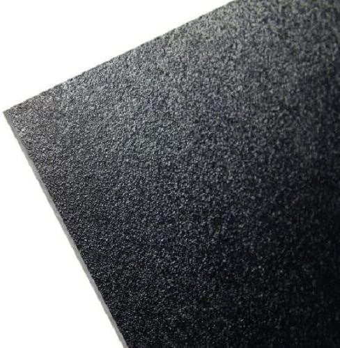Black KYDEX V Plastic Sheet 0.080 X 8 X 12 Vacuum Forming ^ SIBE POLYMERS 10 Pack