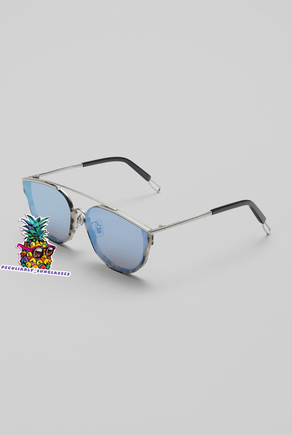 New Gentle man or Women Monster Sunglasses V brand LOE NC1 sunglasses - navy h85smU0d