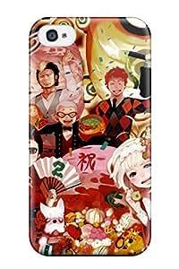 AcAFpOS7699hvkLw Case Cover Anime Anime Boys Ao No Exorcist Okumura Rin Mephisto Pheles Okumura Yukio Shiemi Moriyama Ryuji Suguro Konekomaru Miwa Renzo Shima Kamiki Izumo Iphone 4/4s Protective Case
