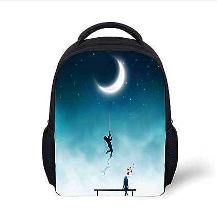 Amazon.com  iPrint Kids School Backpack Fantasy Decor ea947d6494584