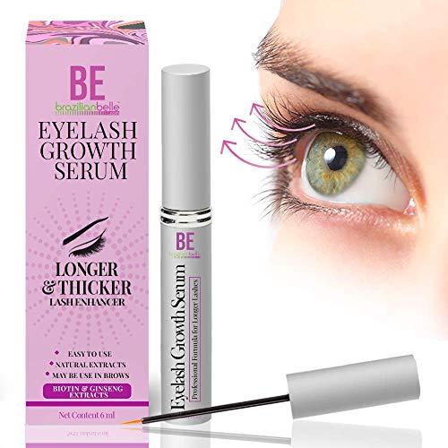 Rapid Eyelash and Brow Growth Serum to Grow Lashes Popular Among Brazilian Models - Brazilian Belle | Dermatologist Certified Biotin Eyelash Growth Products - Best Eyelash Growth Serum Treatment