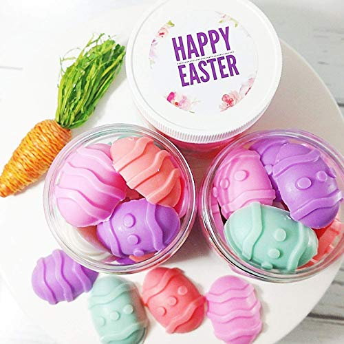 Pastel Easter Egg Soaps Basket Stuffers