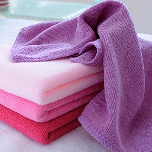 Square Cloth Kitchen Cleaning Cloth Cleans Removes Grease Bacteria Polishes