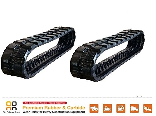 "2pcs Rubber Track 380x86x52, 15"" wide, John Deere CT322 323D Bobcat T630 T650 from Rio Rubber Track kubota"